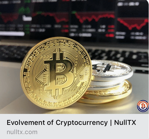 Evolvement of Cryptocurrency