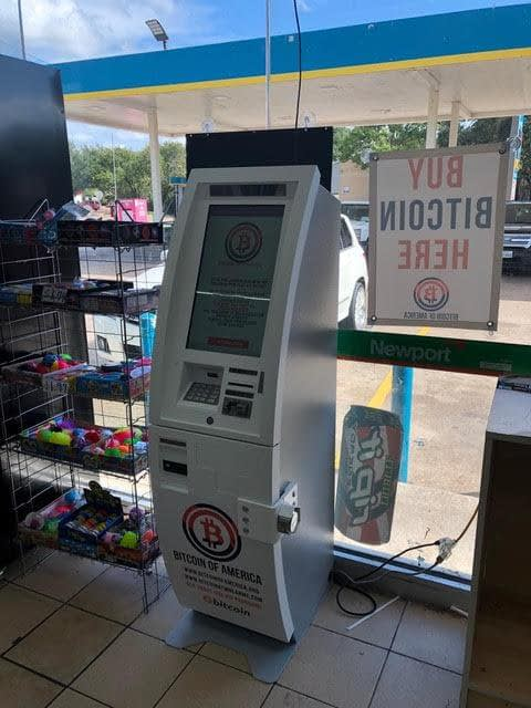 Bitcoin ATM Expansion to Texas